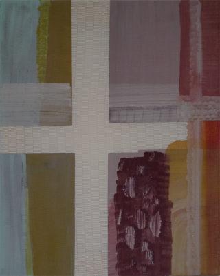 raam, schilderij door Annekatrien de Maar
