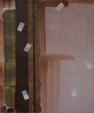 Annekatrien de Maar, zt, 100x120cm, gemengde techniek